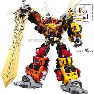 Predaking Oversized Set Of 6 Toys Jinbao Version MMC Feral Rex in Stock