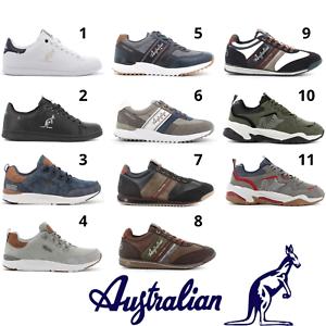 AUSTRALIAN scarpe da ginnastica sneakers uomo casual sportive comode con lacci