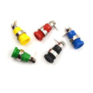 2x 4mm Binding Post Speaker Test Terminal Banana Socket Black /& Red BP01