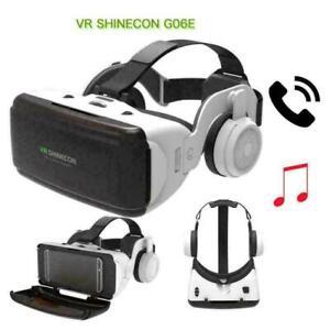 VR-Shinecon-SC-G06E-Kopfhoerer-3D-Virtual-Reality-Brille-Gut