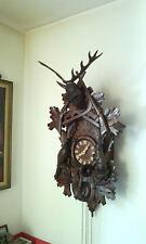 Original Schwarzwald Wanduhr huge black forest wall clock cuckoo clock