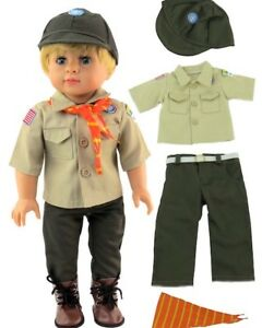 Details about Boy Scout Uniform Repro for American Girl or Boy 18