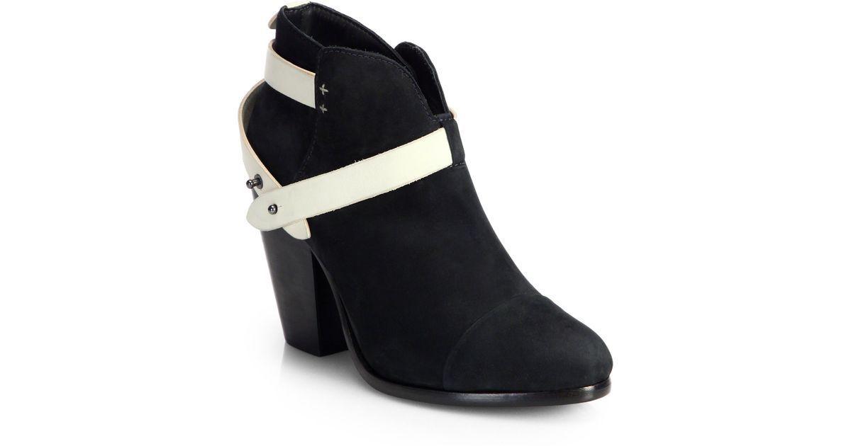 conveniente Rag & Bone Harrow nero Leather Ankle stivali stivali stivali Heels avvioies  Sz 36.5, 6.5, New   ampia selezione