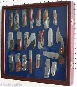 Knife display case shadow box wall cabinet with glass door high image is loading knife display case shadow box wall cabinet with planetlyrics Images