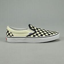 94ccb7641ece1b VANS Classic Slip-on Checkerboard Unisex Yellow White Canvas Slip on ...