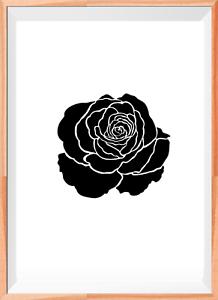 fleur roses rose a4 mylar reutilisable pochoir aerographe