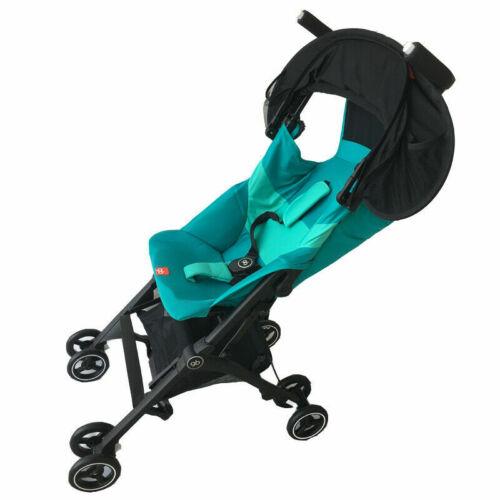 Universal Cochecito Cochecito Cochecito Cochecito de bebé niño Parasol Dosel Cubierta Negro