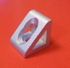 8020 Inc Equivalent Aluminum 2 Hole Inside Corner Gusset 10 Series Pn 4132 New