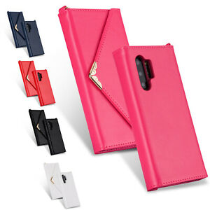 Luxury-Flip-Envelope-Leather-Wallet-Case-For-Samsung-Galaxy-Note-10-Pro-Note-10