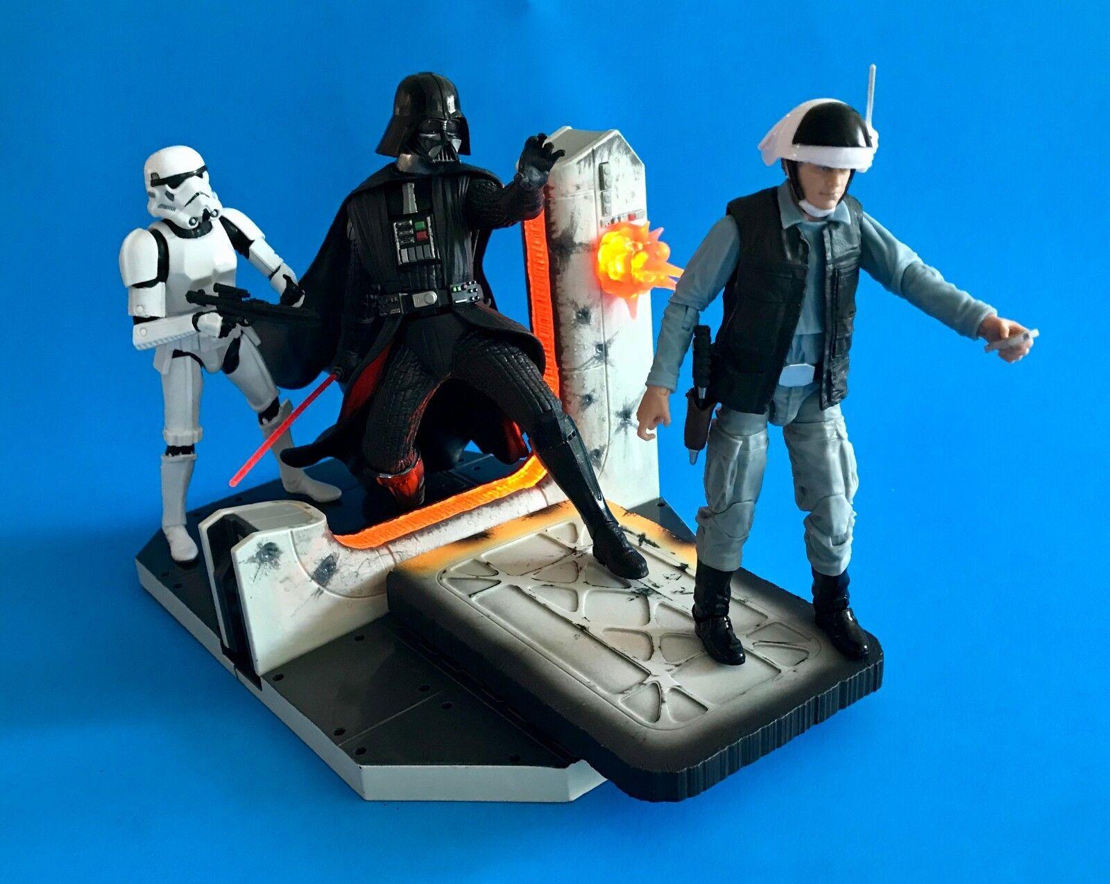 Centro De Mesa Star Wars nero Series Darth Vader Lote de 6 pulgadas