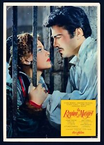 Fotobusta-el-Regina-Margot-Reine-1954-Jeanne-Moreau-A-Dumas-Abel-Gance