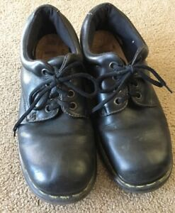 Dr-Doc-Martens-11273-Men-s-Black-Leather-Lace-Up-Shoes-Size-10-UK-11-US-4-eye