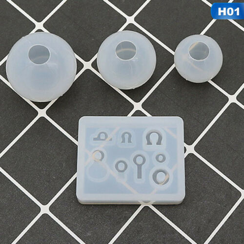 Silicone Resin Mold for DIY Jewelry Pendant Making Tool Mould Handmade Craf trm