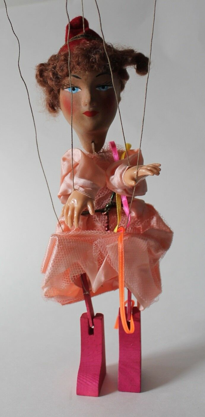 Dgoldthy Lawrence String Marionette Doll Puppet France in Orig Box