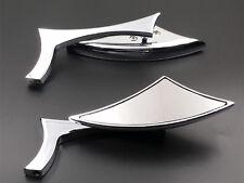 Chrome Spear Rearview Mirrors Kawasaki VN Vulcan Classic Custom 800 900 1500