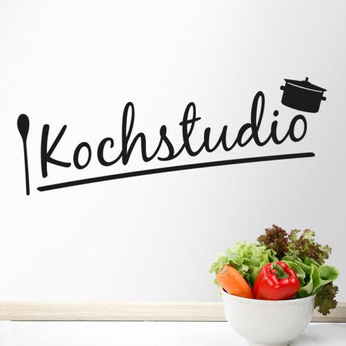 "pared Pegatina Murales hechizo /""Koch Studio/"" pared Sticker cocinar cocina"