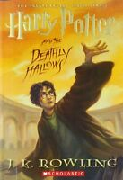 Harry Potter And The Deathly Hallows (book 7) By J. K. Rowling, (paperback), Art on sale