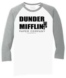 Paper Co DUNDER MIFFLIN Inc TV Show The Office T-shirt Funny Crew  Sweatshirt