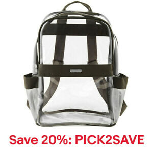 baggallini Clear Event Compliant Medium Backpack 8 Colors NEW, 20% off:PICK2SAVE