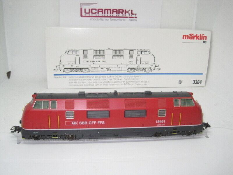 marklin HO 3384 serie am4 4 (18461) SBB Treno somo NUOVO  MARKLIN