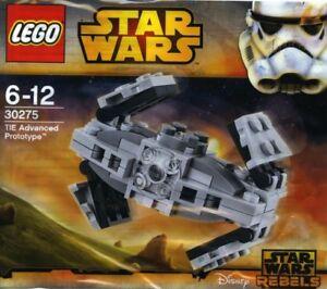 LEGO-STAR-WARS-Corbata-Avanzado-PROTOTIPO-30275-Polybag-BNIP