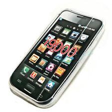 Silikon TPU Handy Cover Case Hülle Schale Transparent für Samsung i9000 Galaxy S