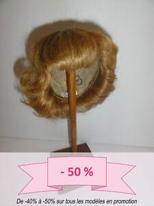 -50% Promo - Perruque De Poupee T9 (32cm) 100% Cheveux Bouclée -doll Wig