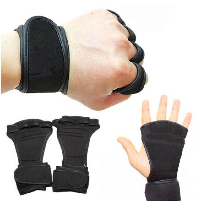 658f507940 Fitness Gloves Weight Lifting Gym Workout Training Wrist Wrap Strap Men    Women