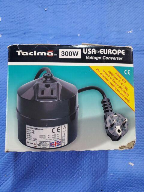 Tacima   Step Down 110 Volt Transformer   300VA  SC5424    UK Plug