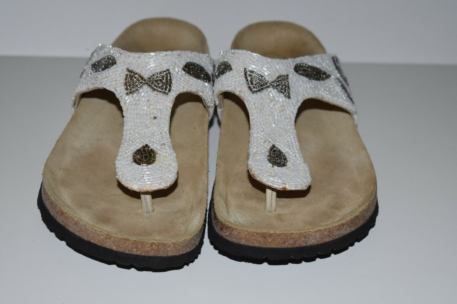 Mephisto Thong Comfort Thong Mephisto Sandale Footbed 37 Sequinced e78197