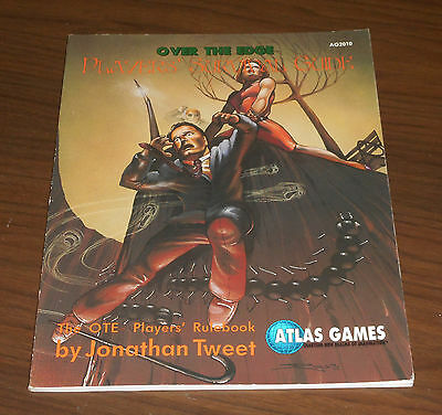 Ag2010 Over The Edge - Players' Survival Guide Jonathan Tweet Atlas Games 1993 Così Efficacemente Come Una Fata