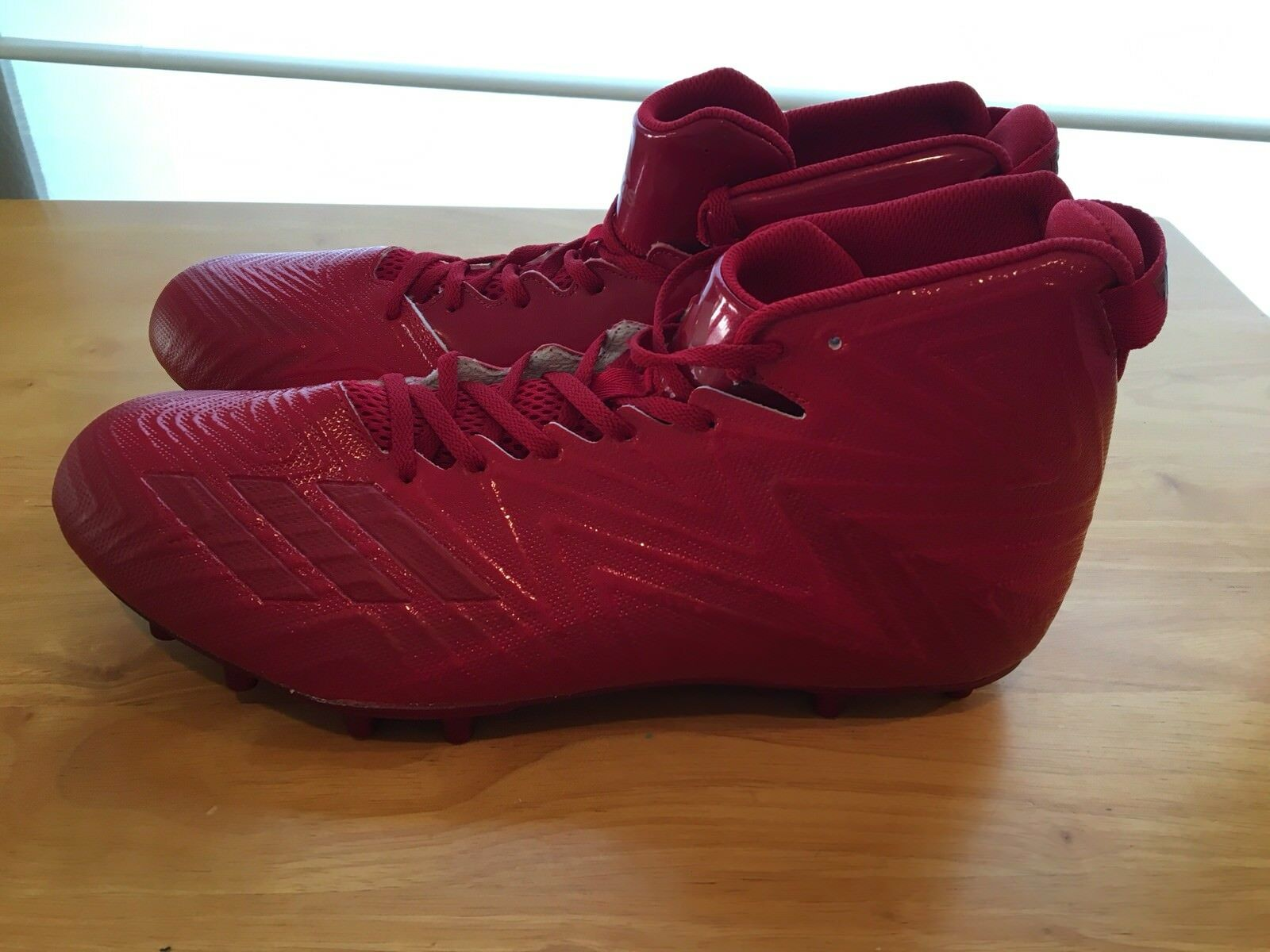 e95599317 New X Carbon Mid Football Cleats Size 14 Red Adidas Freak nnhzrp7470 ...