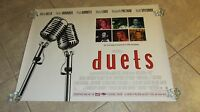 Duets Movie Poster - Gwyneth Paltrow, Huey Lewis And The News