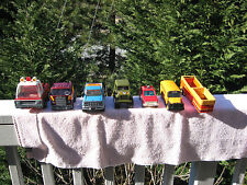 Lot Of 6 Vintage Buddy L Pressed Steel Toy Vehicles Made In Japan!