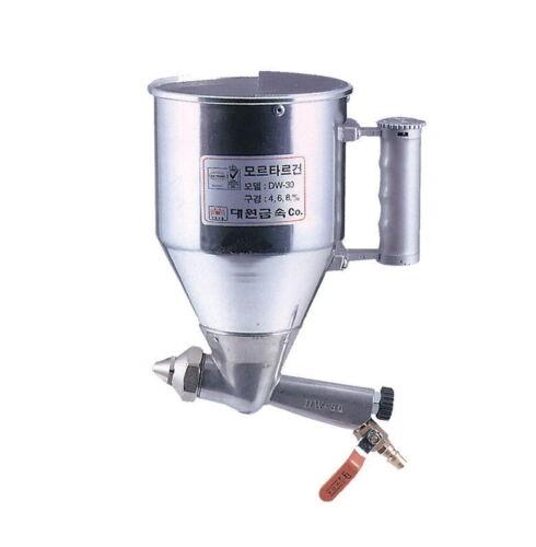 Pulverizador de ar Argamassa Hopper Gun DW-30 De Concreto Gesso textura Cimento tirolessa