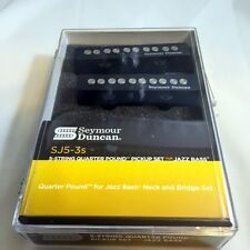 Seymour Duncan Quarter Pound SJ5-3 5 String Jazz Bass Pickup Set 11402-55