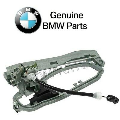BMW E53 X5 Right Rear Outside Door Handle Carrier 51 22 8 243 636