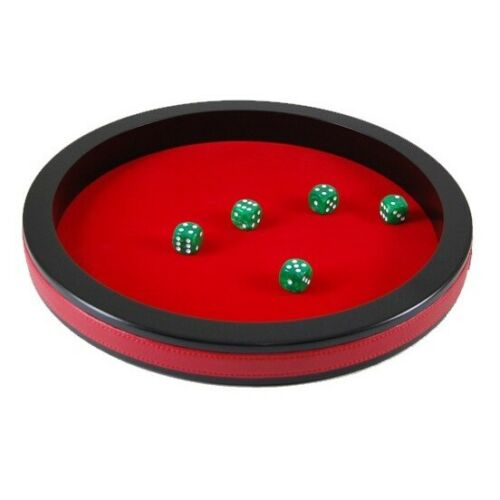 Cube-Plate-Red 34 CM-MDF Painted//Cover Felt 735848-NEW