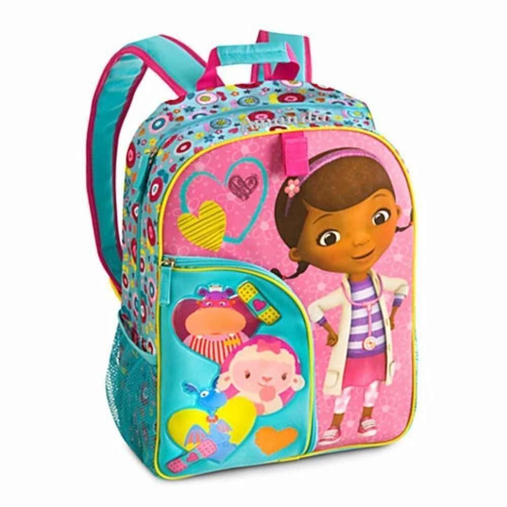 0daf51a1d35 Disney Junior Doc McStuffins Backpack Toys Doctor School Lambie ...