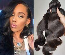 3 Bundles Brazilian Body Wave Hair Extension Unprocessed Human Hair Weave 150g