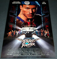Street Fighter 1994 Original 27x40 Movie Poster Jean-claude Van Damme Action