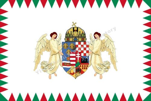Hungary Regent Flag 3X2FT 5X3FT 6X4FT 8X5FT 10X6FT 100D Polyester Banner
