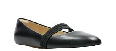Clarks Grace Faye Black leather Ladies