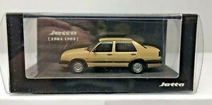 1-64-SCALE-VW-VOLKSWAGEN-JETTA-MODEL-CAR-IN-TAN-1981-1992-C65