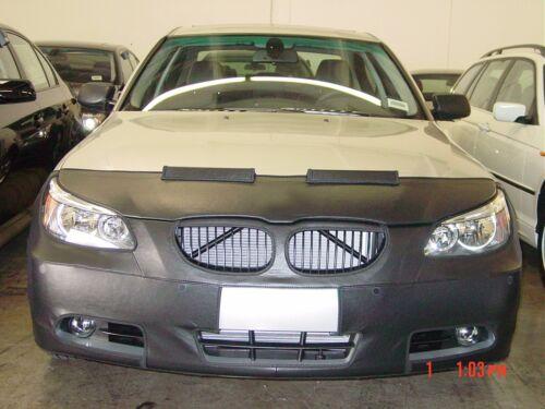 Colgan Front End Mask Bra 2pc.Fits BMW 525i 530i 545i 550i 01-03 W/licen.W/O wsh