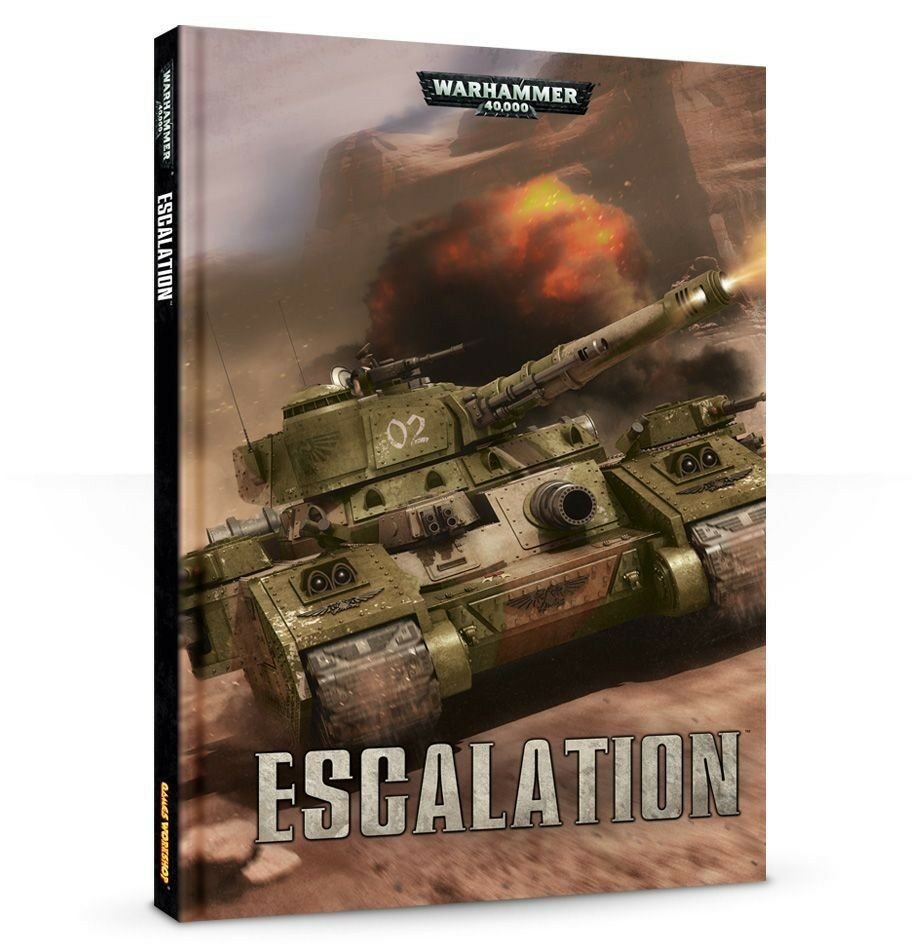 WARHAMMER 40000 40k Codex - Escalation - 7th Edizione - NUOVO ITALIANO