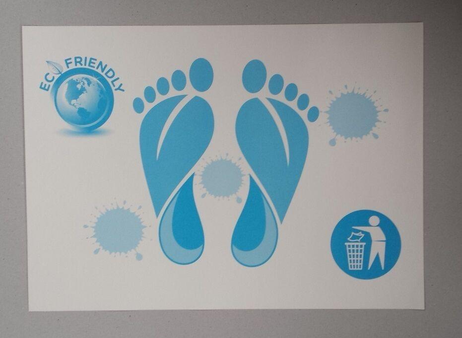 Qualità PEDANE, usa e getta di carta igienica bagno doccia PEDANE, Qualità ideale per alberghi ecc. d84da2