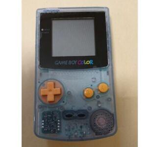 Nintendo-Gameboy-Color-console-Tsutaya-limited-Water-Blue-GBC-Japan-Import-Rare