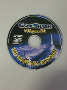2001 Gameboy Advance Gameshark PC Support Disk - Disc Only