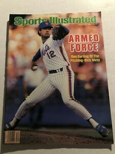 1986-Sports-Illustrated-NEW-YORK-Mets-Ron-DARLING-No-Label-ARMED-FORCE-Gooden